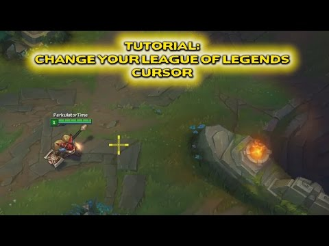 How To Change Your Cursor In League Of Legends!