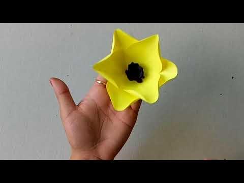 How To Make Paper Flower - DIY Handmade Craft