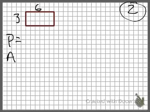 Area and Perimeter with Scale Factors