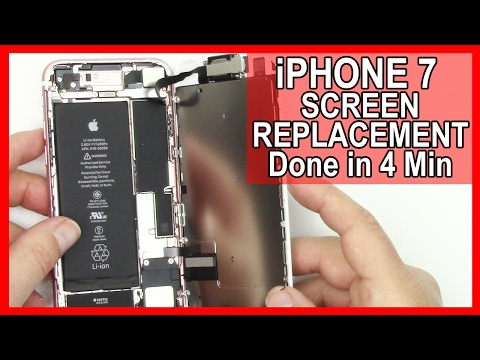 How To: iPhone 7 Screen Replacement done in 4 minutes