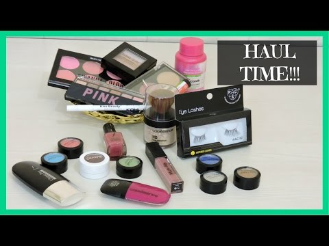 Huge Haul   Sivanna, Kiss Beauty, Colourpop, Coloressence & More   beautywithsneha