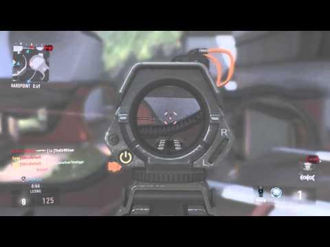 Advanced Warfare: One Shot Hardpoint Gameplay