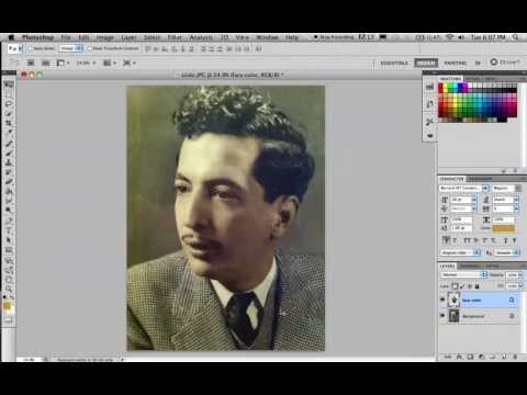 How to color Black and White picture on Photoshop