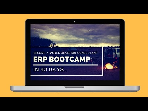 Oracle R12 ERP Implementation Consultant - Mentorship Bootcamp