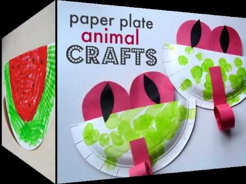 Summer Paper Plate Crafts For Kids| Beautiful Handmade Set Of Diy Picture Collections & Ideas