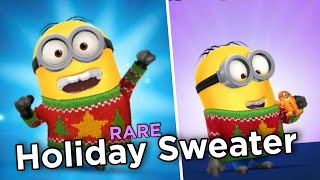 minion rush golden holiday sweater minion return of the holiday lab jolly christmas 1 - Minion Rush Christmas
