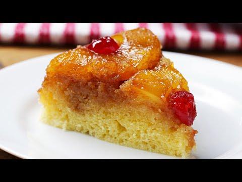 Rice Cooker Pineapple Upside-Down Cake