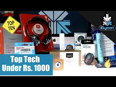 Top 10 Cool Tech for Under Rs. 1000 - iGyaan