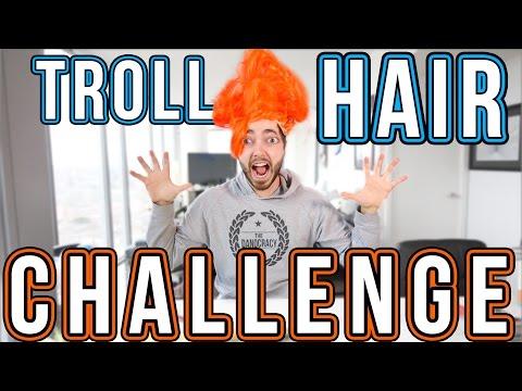 The TROLL HAIR Challenge!!