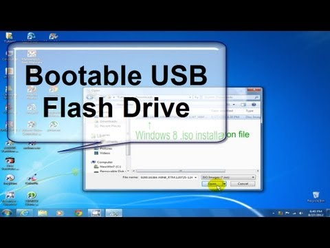 How to install Windows 8 from a USB drive - Easy & Fast