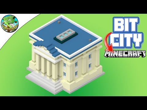 Minecraft: BIT CITY TOWN HALL