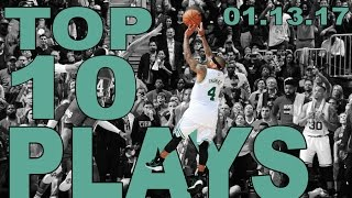 Top 10 NBA Plays of the Night: 01.13.17