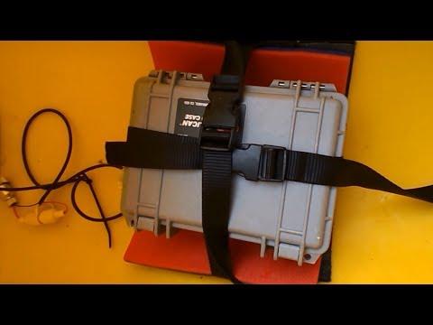 Kayak Battery Box Setup