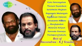 Best  Raveendran KJ Yesudas   Malayalam Movie  Songs   Audio Jukebox