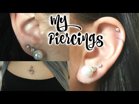 All About My Piercings! Experiences, Pain, & Healing