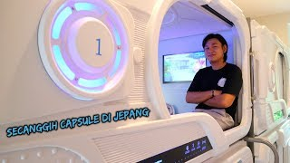 """HOTEL CAPSULE TERCANGGIH DI INDONESIA! """"MIRIP DI JEPANG"""""""