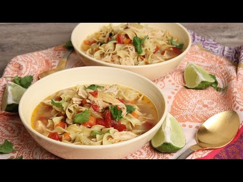 Tex Mex Chicken Noodle Soup | Episode 1141