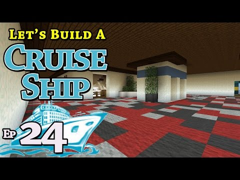 How To Build A Cruise Ship :: Minecraft :: E24 :: Z One N Only