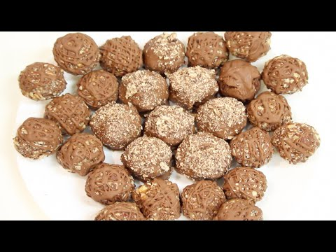 how to make CHOCOLATE NUTELLA TRUFFLES! (NO BAKE) Its A Piece Of Cake