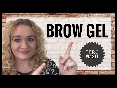 How To Make Brow Gel - Zero Waste Eyebrow Gel