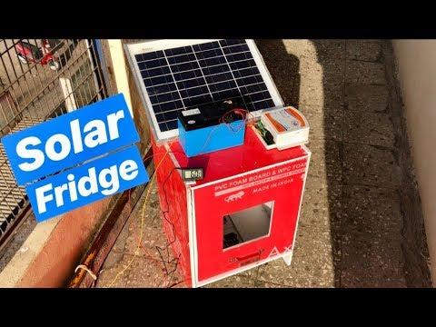 How to make Solar Refrigerator at Home