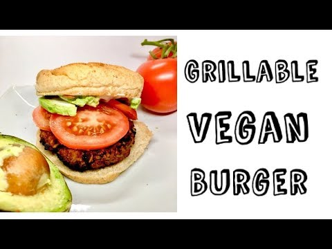How to Make a Vegan Burger - Vegan Grill Recipes - Midnight Munchies and More