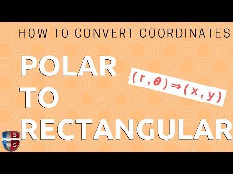 Math Analysis - Polar Coordinates to Rectangular Coordinates