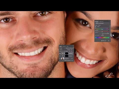 Learn How To Whiten Teeth in Photoshop CC and CS6