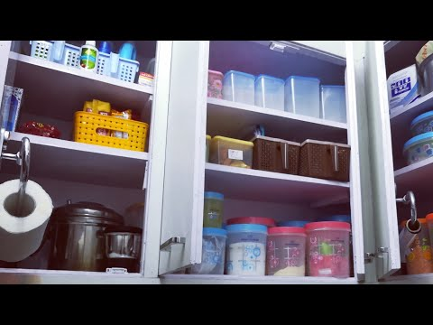 Kitchen Organization Ideas - How to store kitchen containers | Anupama Jha