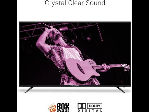 CloudWalker 109cm (43 inch) Full HD LED Smart TV (CLOUD TV 43SF)