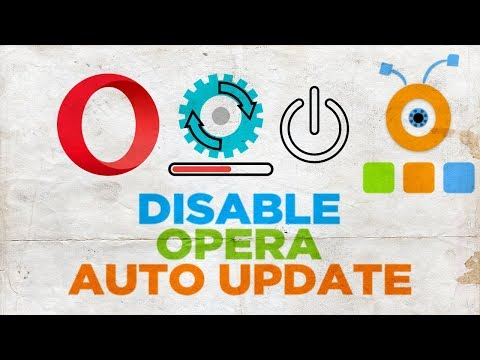 How to Disable Opera Auto Update | How to Stop Opera Web Browser Auto Update