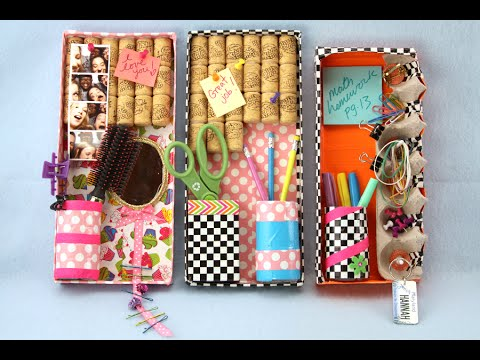 How to Make a Custom Duct Tape Locker Organizer | Sophie's World