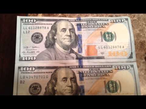 New 100 Dollar Bill Blue Line Conspiracy Or Not United Stat
