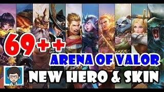 69   New Hero & Skin Aov Server Global - Arena Of Valor