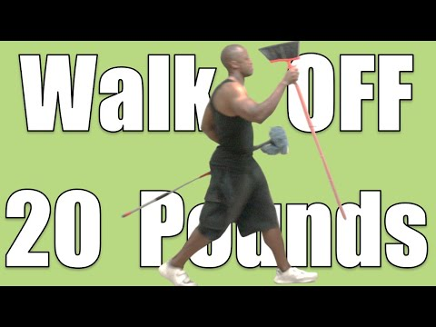 Walk Like This to Lose Weight Fast in a Week (Lose 20 Pounds a Month Walking)