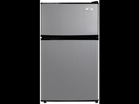 SPT RF-314SS Double Door Refrigerator, Stainless Steel 3.1 Cubic Feet Review