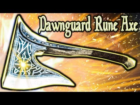 Skyrim SE - Dawnguard Rune Axe - Unique Axe Guide