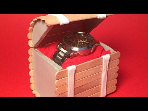 How To Create A Cool Treasure Chest With Popsicles - DIY Crafts Tutorial - Guidecentral