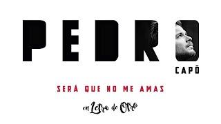 Pedro Capó - Será Que No Me Amas (Audio)