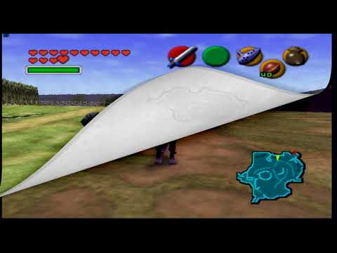 Ocarina of Time All 4 Bottles HD