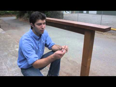 Cable Railing with Wood Posts DIY