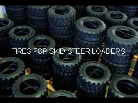 VIDEO FOR SKID STEER TIRES 10X16 5 & 12X16 5