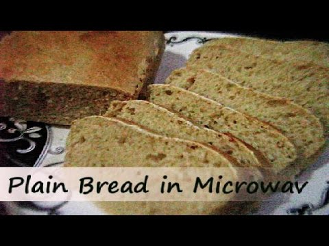 Plain Bread In Microwave Convection