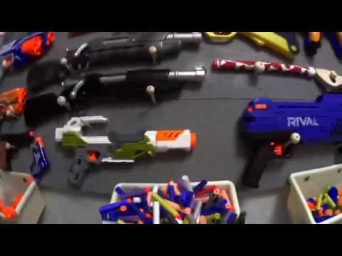 How To Build A Nerf Wall!