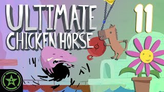 Sticky Holes - Ultimate Chicken Horse (#11) | Let