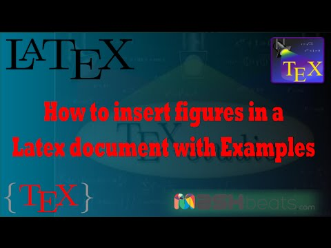 How to insert figures in a Latex document - Examples HD