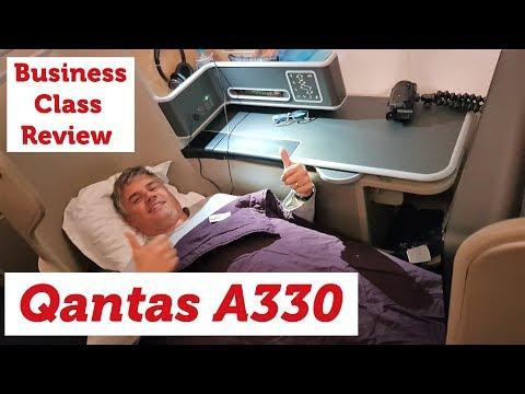 Qantas A330 Business Class - Welcome Home!