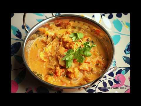 Tiger Shrimp Korma- Shrimp in Coconut milk