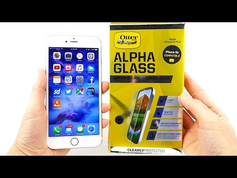 Otterbox Alpha Glass: A Great Case Friendly Screen Protector for iPhone 6s+!