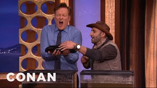 Download Coyote Peterson Passes Out Slugs - CONAN on TBS Video